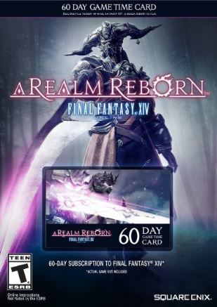 Final Fantasy XIV  |  60 Day Gamecard |  US Only
