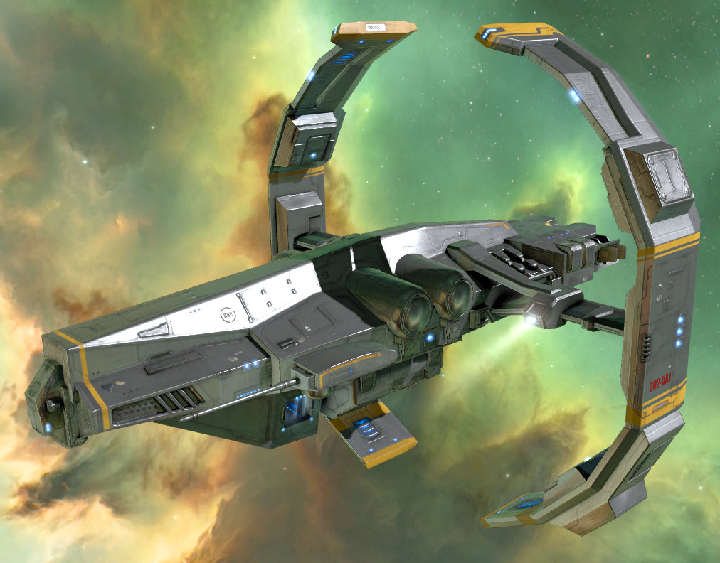 EVE Online Astero SEO Gold Cell Skin