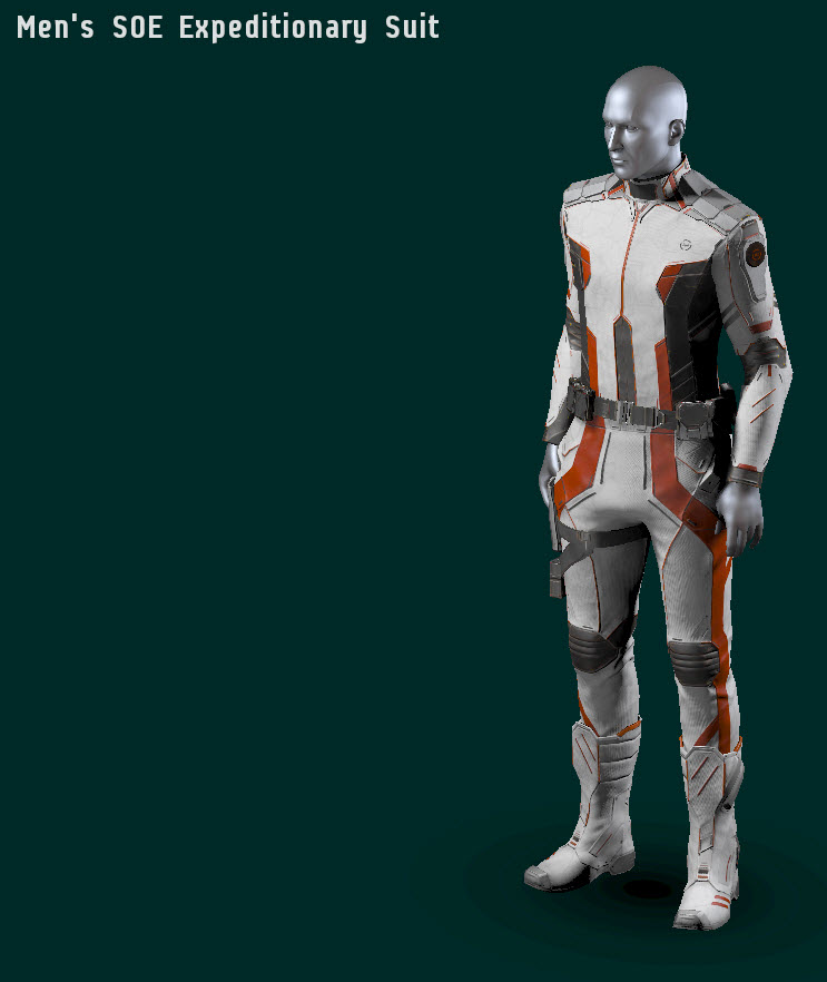EVE Online Mens Expeditionary Suit