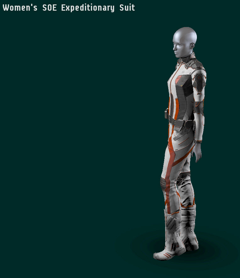 EVE Online Womens Expeditionary Suit