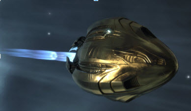 EVE Golden Pod from the EVE Collectors Edition