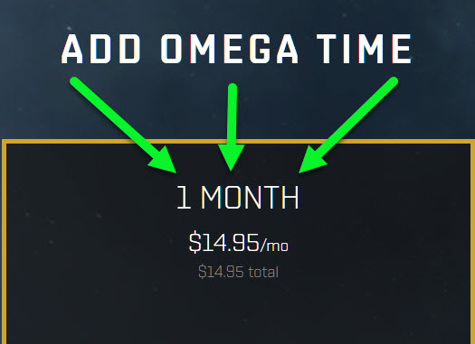 EVE Online One Month Omega Time