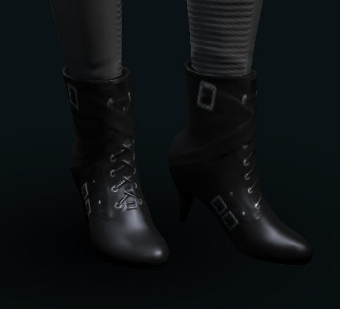 EVE Online Womens Corsair Heels black