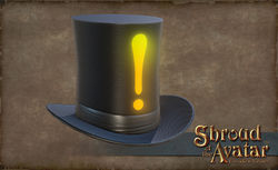 TT Shroud of the Avatar - Exclamation Stovepipe Hat