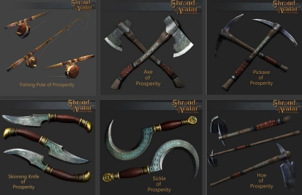 TT Shroud of the Avatar - Prosperity Tool Reward