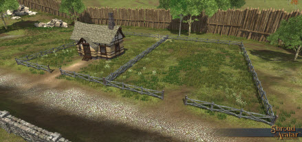 TT Shroud of the Avatar - Player Owned Town Village Lot Deed