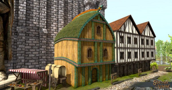 TT Shroud of the Avatar - Viking Three-Story (Row Home)