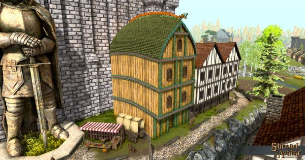 TT Shroud of the Avatar - Viking Four-Story (Row Home)