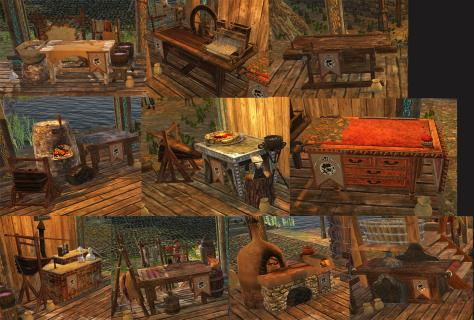 TT Shroud of the Avatar Benefactor Founder Crafting Station Reward