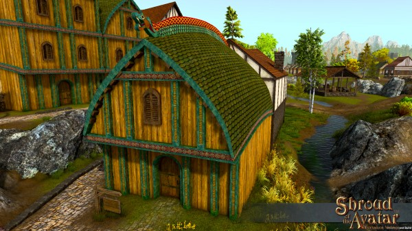 TT Shroud of the Avatar Viking Two-Story (Row Home)