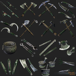 TT Shroud of the Avatar Prosperity Tool 4-Pack