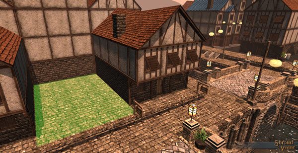 TT Shroud of the Avatar Player Owned Town  Row Lot Deed