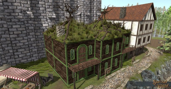 TT Shroud of the Avatar - Elven 2-Story with Alcove (Row Home)