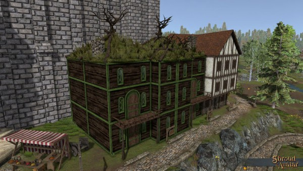 TT Shroud of the Avatar - Elven 3-Story with Alcove (Row Home)