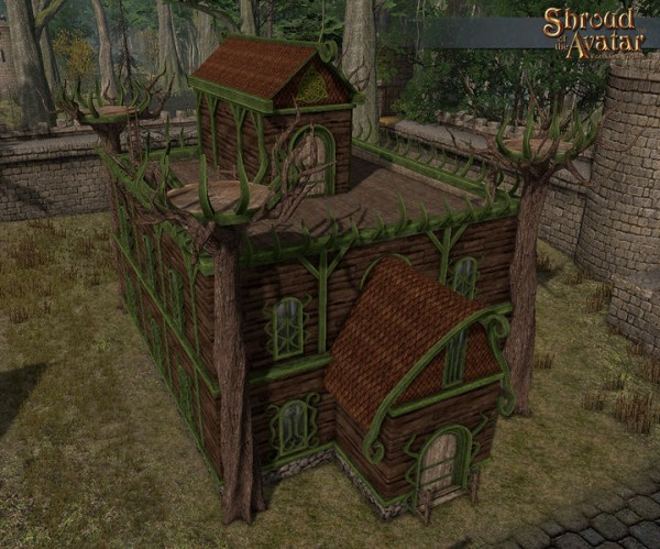 TT Shroud of the Avatar - Elven Keep (Village Home)