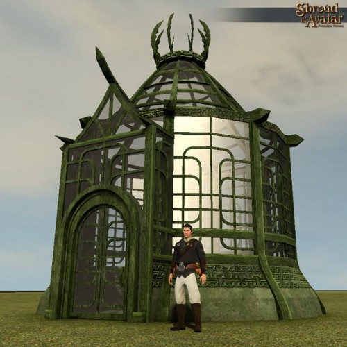 TT Shroud of the Avatar - Round Elven Greenhouse