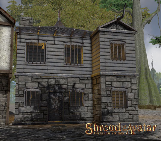 TT Shroud of the Avatar - Kobold Two-Story with Alcove (Row Home)