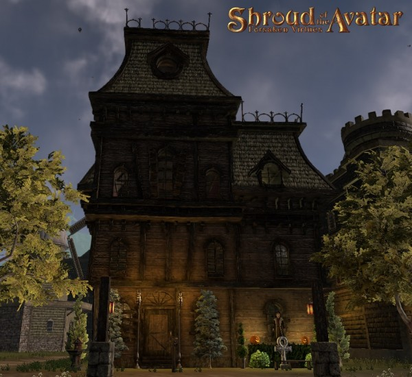 TT Shroud of the Avatar - Gothic Mansion Three-Story (Village Home)
