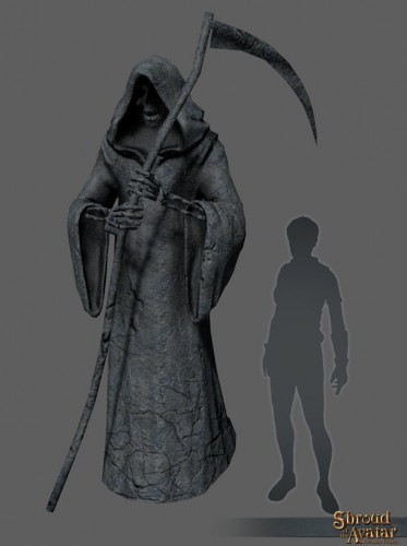 TT Shroud of the Avatar - Grim Reaper Statue