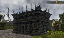 TT Shroud of the Avatar - Obsidian (Village Home)