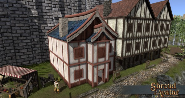 TT Shroud of the Avatar - Shogun Two-Story (Row Home)