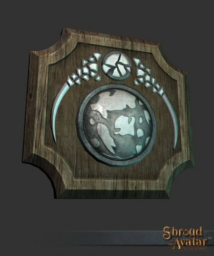 TT Shroud of the Avatar Benefactors Plaque