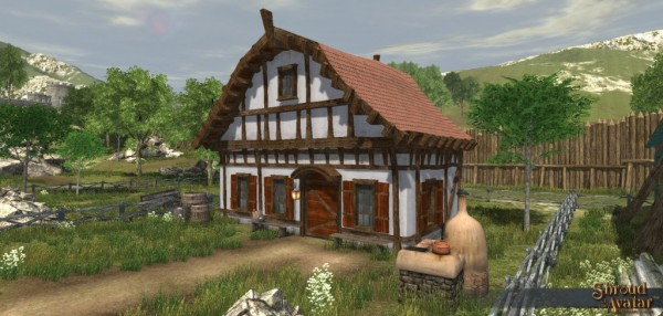 TT Shroud of the Avatar Edelmann Founder (Village Home)