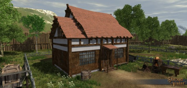 TT Shroud of the Avatar Edelmann Benefactor (Village Home)