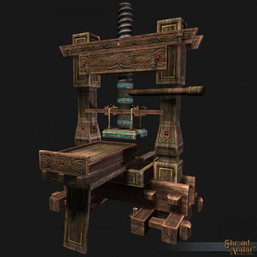 TT Shroud of the Avatar Magic Printing Press