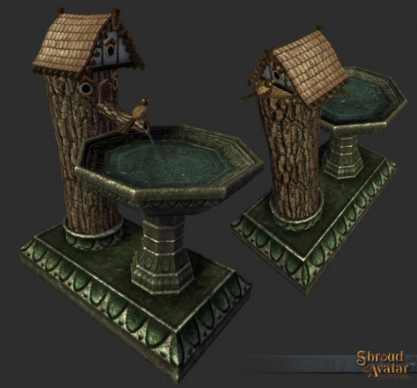 TT Shroud of the Avatar Edelmann Birdbath