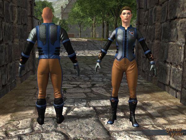TT Shroud of the Avatar Founders Mail Armor Set