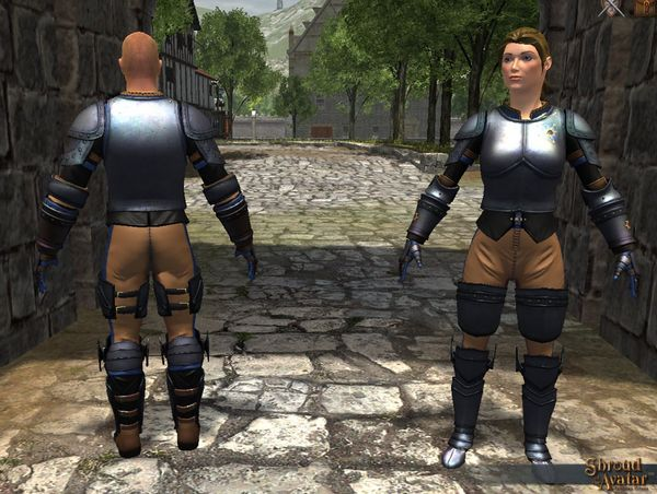 TT Shroud of the Avatar Founders Plate Armor Set