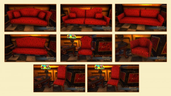 TT Shroud of the Avatar Upholstered Furniture Set