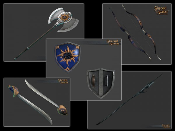 TT Shroud of the Avatar Founders Weapons Pack