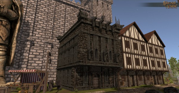 TT Shroud of the Avatar Obsidian Two-Story (Row Home)