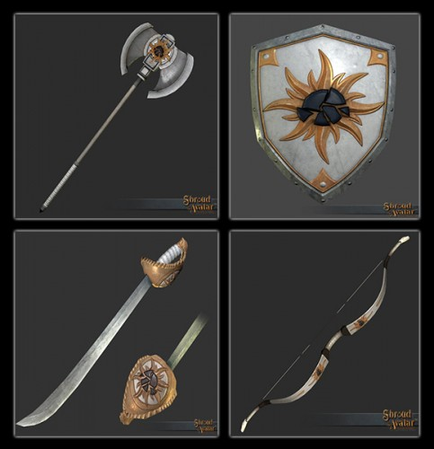 TT Shroud of the Avatar Royal Founders Weapons Pack