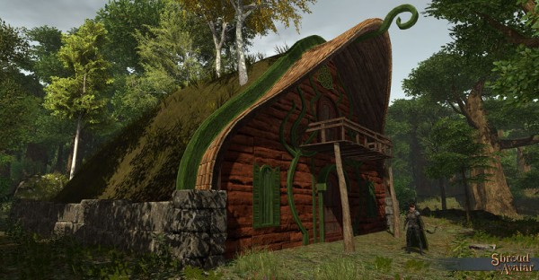 TT Shroud of the Avatar Elven Hill Village Home
