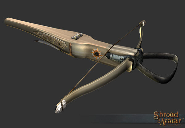TT Shroud of the Avatar Iolo's Royal Founder Crossbow