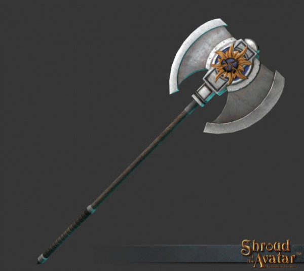 TT Shroud of the Avatar Founders Two-Handed Axe