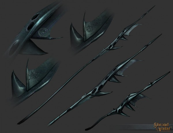 TT Shroud of the Avatar Founders Vanduul Polearm