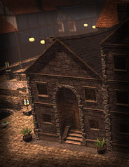 TT Shroud of the Avatar Stone 2 Story Row Home