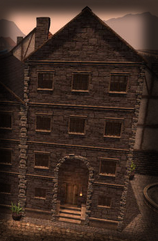 TT Shroud of the Avatar Stone 4 Story Row Home