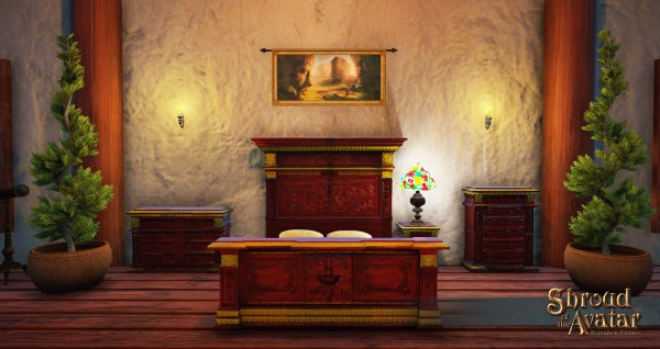 TT Shroud of the Avatar Renaissance Bedroom Set