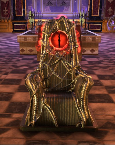 TT Shroud of the Avatar 2x Oracle Eye Throne
