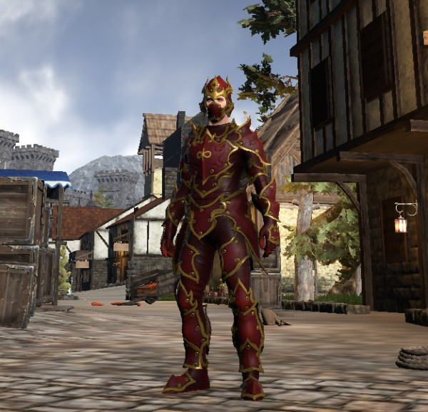 TT Shroud of the Avatar Virtue Flame Armor Set