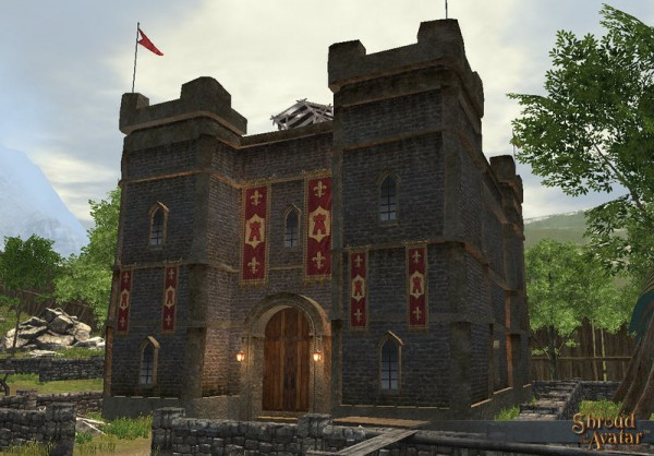 TT Shroud of the Avatar Knight Benefactor Village Home