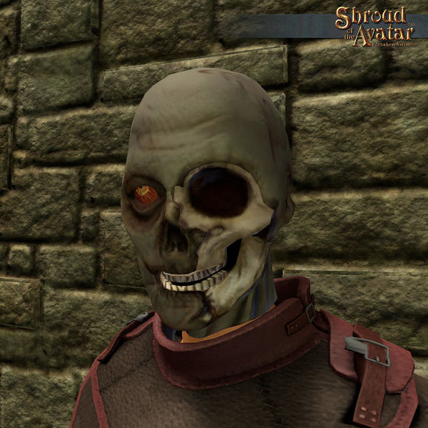 TT Shroud of the Avatar One Eyed Zombie Mask