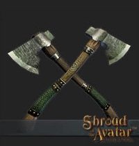 TT Shroud of the Avatar Artisan Harvesting Axe