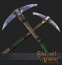 TT Shroud of the Avatar Artisan Pickaxe