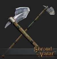 TT Shroud of the Avatar Founders Artisan Hoe